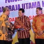 Pjs. Gubernur Lampung Buka Ramah Tamah Forum Kerjasama Daerah Mitra Praja Utama