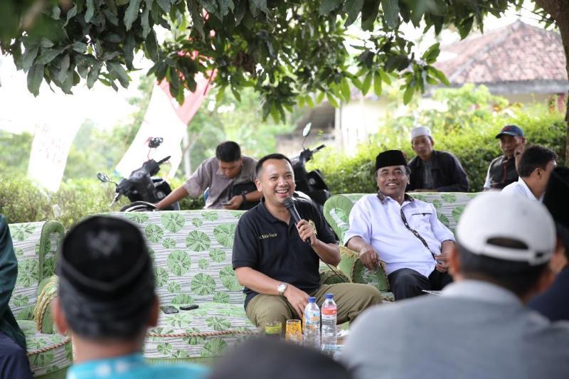 Calon Gubernur Lampung M Ridho Ficardo.