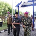 Pjs. Gubernur Didik Hadiri Sertijab Komandan Brigif – 3 Marinir Piabung