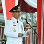 Upacara HUT Lampung, Pjs. Gubernur Didik Ajak Masyarakat Tingkatkan Semangat Pembangunan
