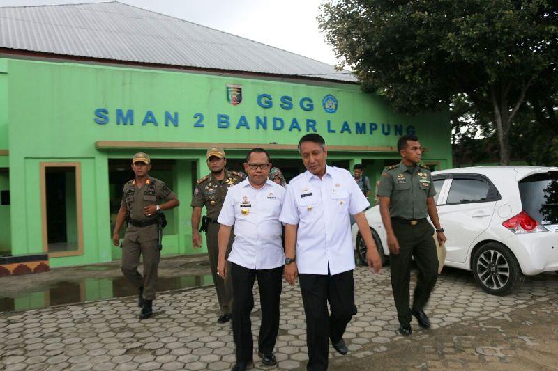 Didik Suprayitno saat meninjau lokasi yang akan dikunjungi OASE Kabinet KerjaRabu 28 Februari 2018 sore.
