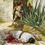Ilustrasi kisah di Mat 21:33-43,45-46. Credits : https://www.facebook.com/thomas.suratno.7