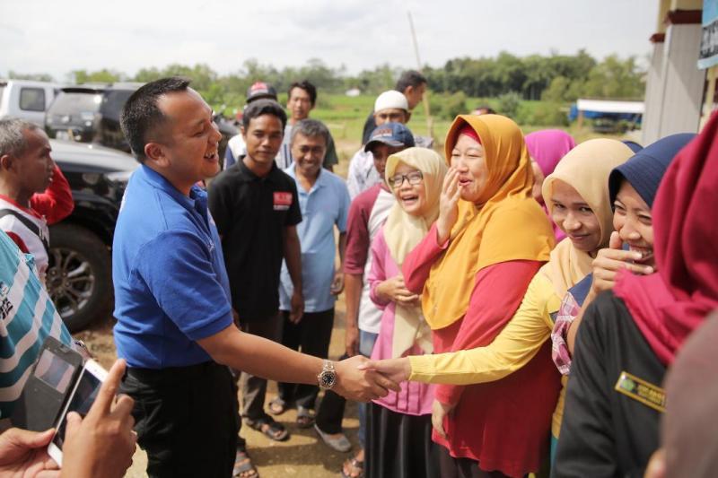 Muhammad Ridho Ficardo di Sekampung Lampung Timur.