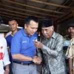 Muhammad Ridho Ficardo Mendengarkan Aspirasi Petani Batanghari Nuban