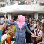 Yustin Ridho Ficardo Lomba Mewarnai Anak 2018 di Mal Boemi Kedaton