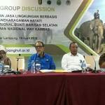 Dinas Kehutanan Provinsi Lampung FGD Pengelolaan Jasa Lingkungan