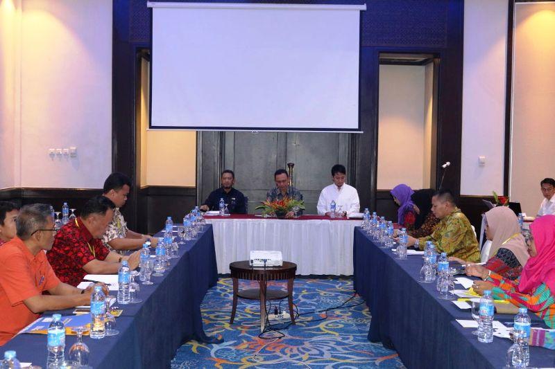 Forum Koordinasi Pembinaan Konstruksi Wilayah Lampung, di Sheraton Hotel Bandar Lampung, Kamis 26 April 2018.