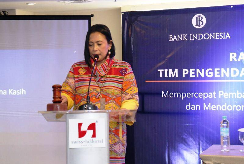 Kepala Departemen 1 Bank Indonesia Dewi Setyowati.