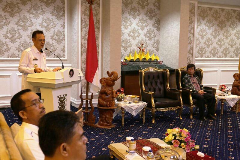 Plt. Asisten Bidang Ekonomi dan Pembangunan Setda Provinsi Lampung Taufik Hidayat.