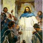 Ilustrasi Yesus menampakan diri pada pra muritnya. Credits : goodsalt.com