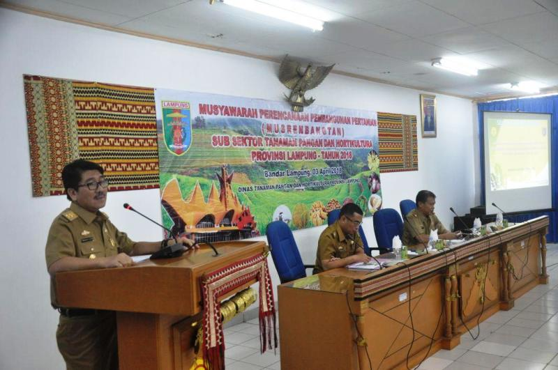 Pj. Sekretaris Daerah Provinsi Lampung Hamartoni Ahadis