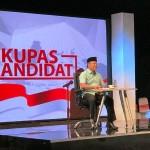 Panelis Apresiasi M Ridho Ficardo di Acara Kupas Kandidat Gubernur