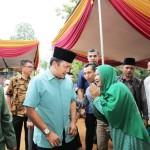 Ulama dan Masyarakat Bangunrejo Lamteng Dukung Ridho-Bakhtiar