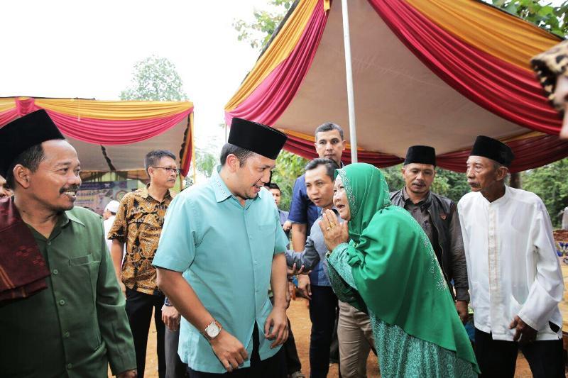 Calon gubernur Lampung nomor urut 1, Muhammad Ridho Ficardo.