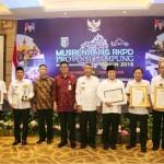 Mendagri Tjahyo Kumolo Buka Musrenbang Provinsi Lampung Tahun 2018