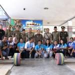 Motivasi Atlet Asian Games, PJ. Gubernur Didik Kunjungi Padepokan Angkat Besi Pringsewu