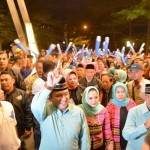 Relawan Ridho Berbakti Ajak Semua Pendukung Paslon Bergoyang