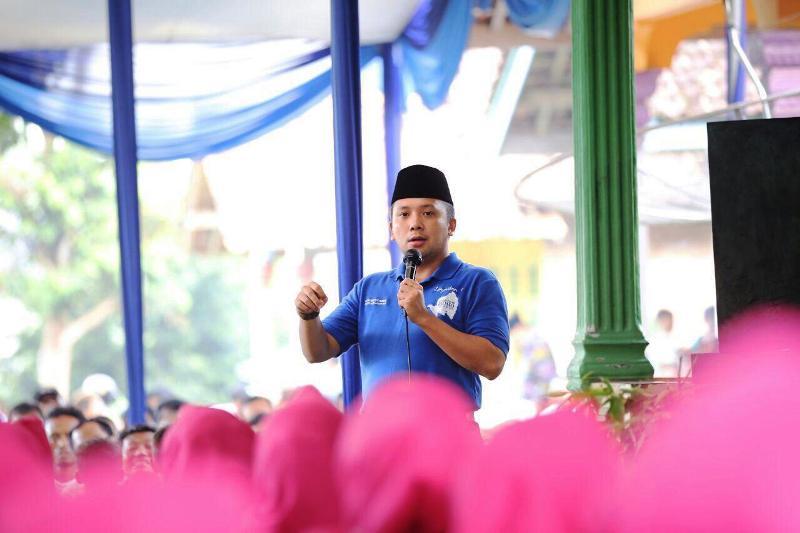 calon Gubernur Lampung nomor urut 1 Muhammad Ridho Ficardo.