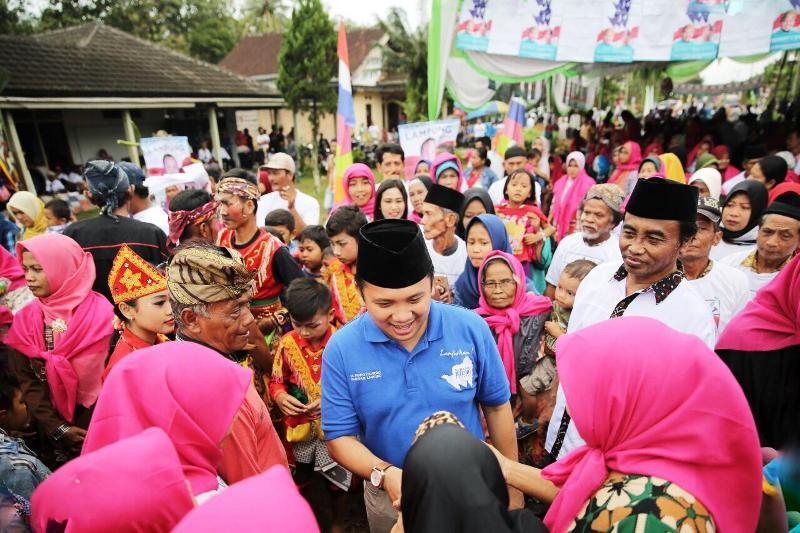 Calon Gubernur Lampung Muhammad Ridho Ficardo.