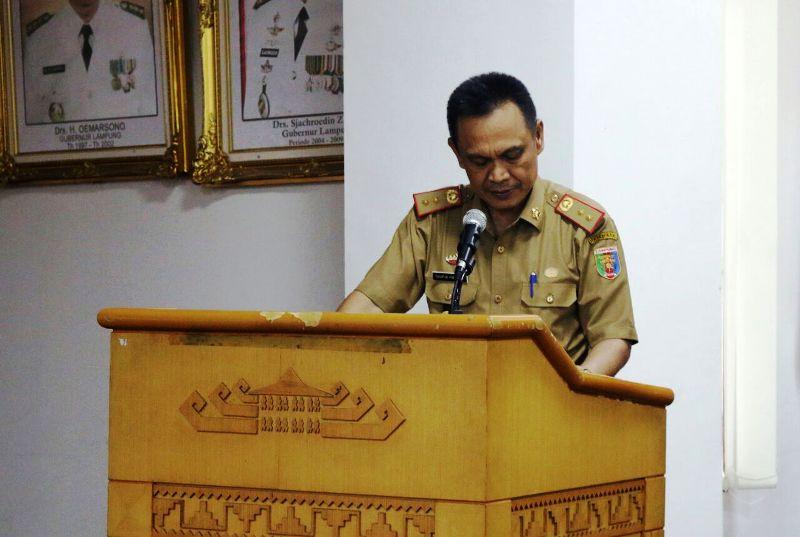 Plt. Asisten Bidang Ekonomi dan Pembangunan Provinsi Lampung, Taufik Hidayat.
