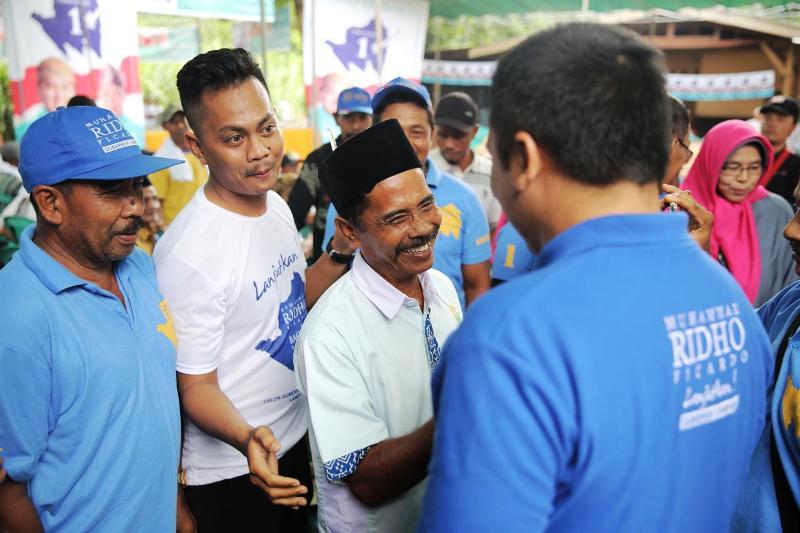 calon Gubernur nomor urut 1 ini adalah untuk bersilaturahmi dan berdiskusi dengan warga Desa Raman Aji, Kecamatan Raman Utara, Lampung Timur, Selasa 17 April 2018.