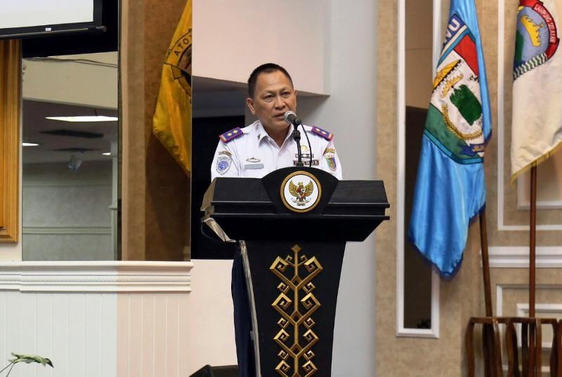 Kadis Perhubungan Provinsi Lampung Qodratul Ikhwan.