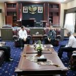 Pjs. Gubernur Didik Terima Audiensi Dirut Bank Lampung Eria Desomsoni