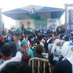 Ribuan Pendukung Paslon Gubernur Lampung Muhammad Ridho Ficardo – Bachtiar Basri Padati Lapangan Kota Metro