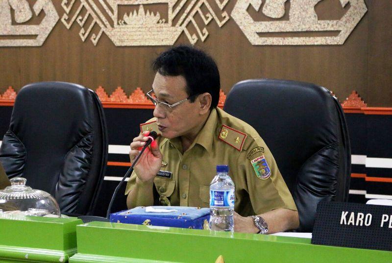 Kepala Biro Perkonomian Lukmansyah.