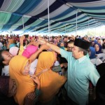 Puluhan Ribu Warga Lamteng, Apresiasi Keberhasilan Ridho