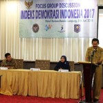 Provinsi Lampung Gelar FGD Penyusunan Indeks Demokrasi Indonesia Tahun 2017