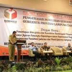 Pemprov Berharap Bawaslu Lampung Tingkatkan Profesionalitas untuk Cegah dan Tindak Pelanggaran