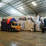 Tim Sergab Inspektorat Jenderal Kementerian Pertanian Blusukan ke Gudang Bulog Campang dan Tembusu Lampung