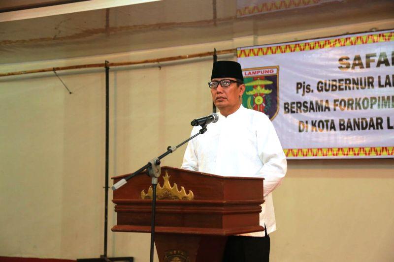 Pjs. Gubernur Lampung Didik Suprayitno
