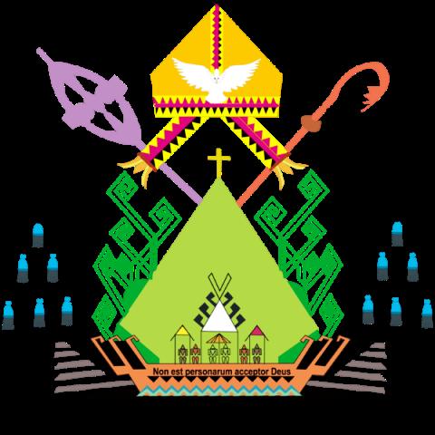 Logo Keuskupan Tanjungkarang.
