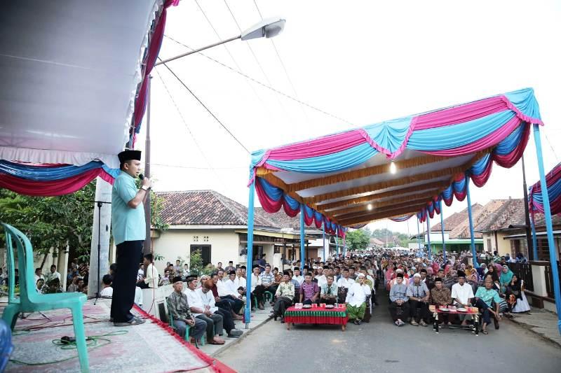 Calon Gubernur Lampung Petahana, Muhammad Ridho Ficardo.
