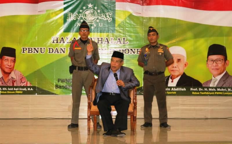 Ketua Umum PBNU KH. Said Aqil Siradj.