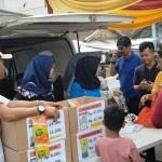 Bulog Divre Lampung Kenalkan Beras Kemasan 200 Gram