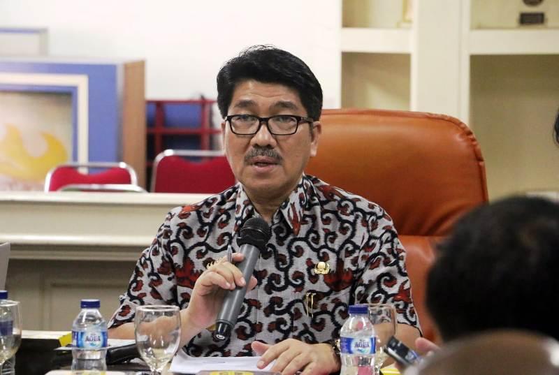 Pj. Sekretaris Daerah Provinsi Lampung Hamartoni Ahadis.