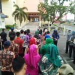 Biro Humas dan Protokol Pemerintah Provinsi Lampung Gelar Apel Persiapan Kegiatan HUT Kemerdekaan RI ke-73