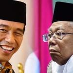 Jokowi Resmi Umumkan Ma'ruf Amin Cawapres di Pilpres 2019