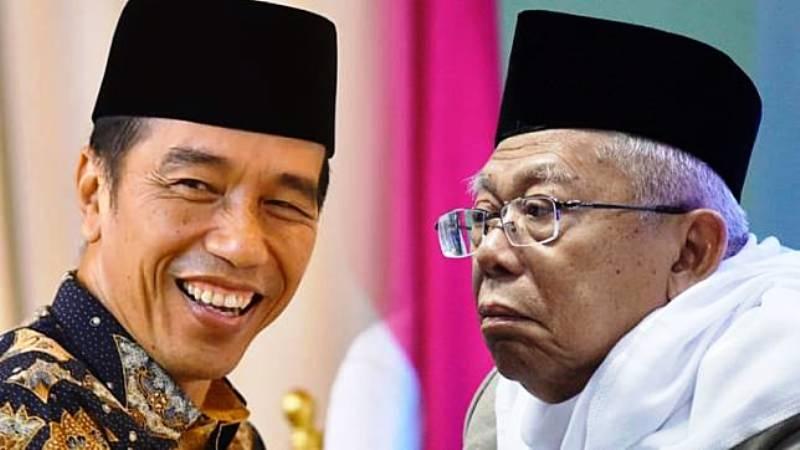Joko Widodo dan Ma'ruf Amin. (Foto: dok. Biro Pers Setpres dan Fitra Andrianto/kumparan)