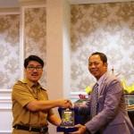 Peserta VKN Diklat Pim Tingkat II Angkatan XVII Provinsi Jawa Timur Berkunjung ke Lampung