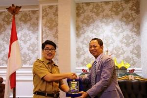 Pemerintah Provinsi Lampung mengapresiasi dan menyambut baik kedatangan rombongan Peserta Visitasi Kepemimpinan Nasional (VKN) Diklat Pim Tingkat II Angkatan XVII Provinsi Jawa Timur di Provinsi Lampung.