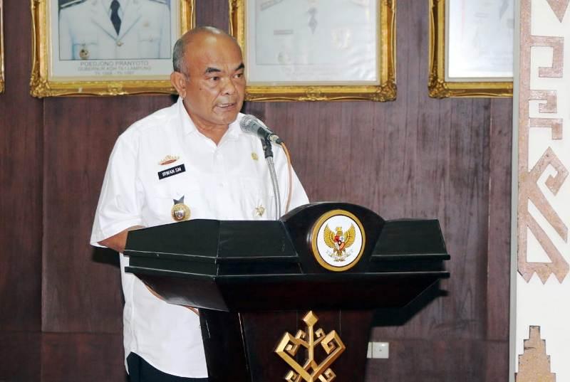 Kepala Badan Kesbangpol Provinsi Lampung, Irwan Sihar Marpaung.