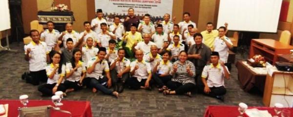 Rapat Kerja Daerah (Rakerda) Pemuda Katolik Komda Lampung di Hotel Arinas Bandar Lampung, pada 11-12 Agustus 2018.