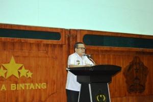 Kepala Dinas Sosial Provinsi Lampung Sumarju Saeni.