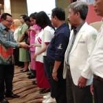 Kepala Dinas Sosial Provinsi Lampung Kukuhakan Seribu Sahabat Peduli ODHA