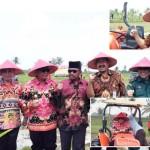 Sambut MT III, PJ Upsus Lampung Tengah Pantau Olah Tanah dan Tanam