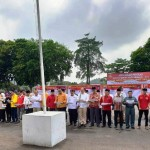 FKUB Pimpin Pembacaan Deklarasi Pemilu 2019 Aman, Damai dan Sejuk di Provinsi Lampung